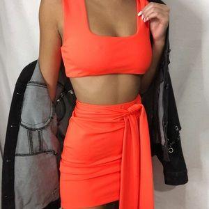 Fashion nova 2 piece dress